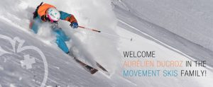 Movement Skis - Aurelien Ducroz