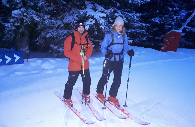 Test skis Seek 7 skis Rossignol 2019