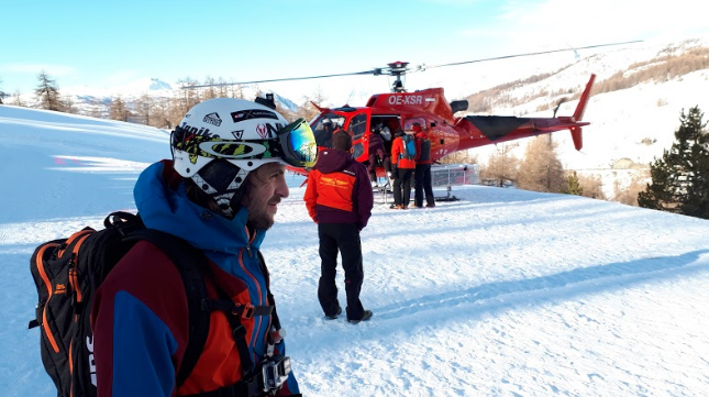 Conditions Heliski Test gamme QST